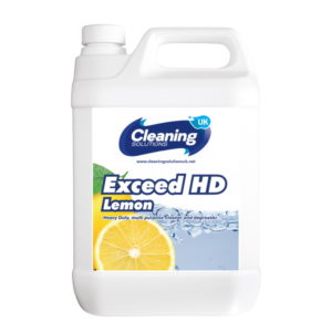 Cleaning Solutions Exceed HD Lemon 5l Liquid