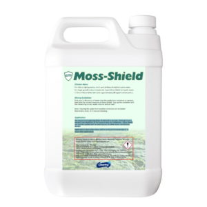 Cleaning Solutions Moss-Shield rear